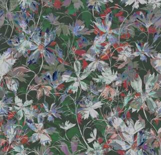 אבסטרקט פרחים