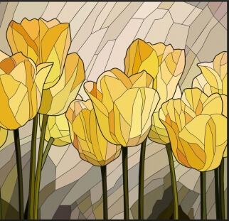 אומנות על זכוכית  (4)