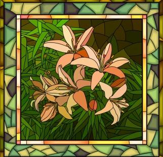 אומנות על זכוכית  (5)