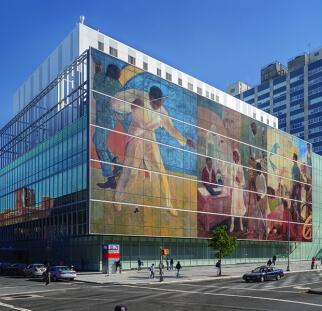 אומנות על קיר חוץ של בניין