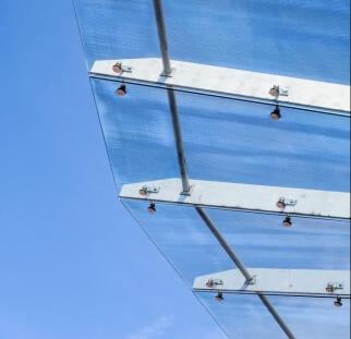 גגון זכוכית פרגולה  (1)