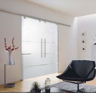 דלת זכוכית מעוצבת בהדפס קרמי  (2)