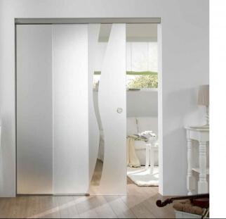 דלת זכוכית מעוצבת בהדפס קרמי  (4)