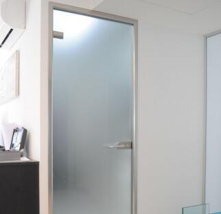 דלת כנף מסגרת אלומיניום - עותק