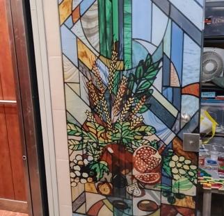 דלת ויטראז מעוצבת (1)