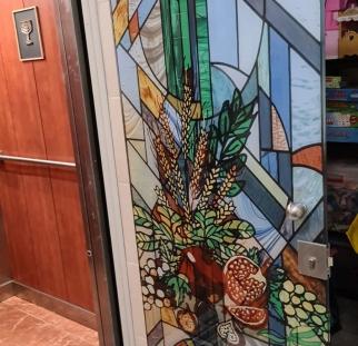 דלת ויטראז מעוצבת (6)