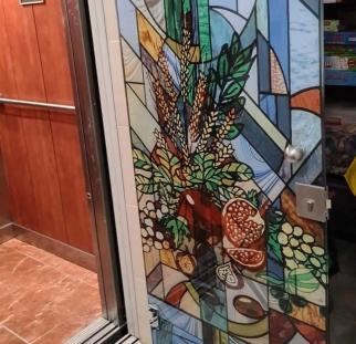 דלת זכוכית בהדפסה קרמית (5)