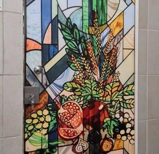 דלת זכוכית ויטראז (1)