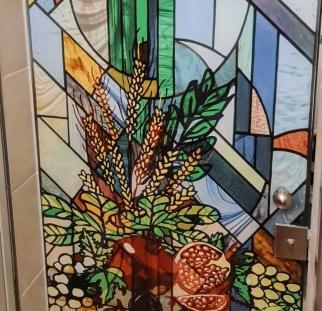 דלת זכוכית ויטראז (2)