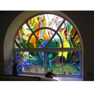 ויטראז אומנותי לבית כנסת