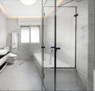 חדרי רחצה מזכוכית מעוצבת (2)