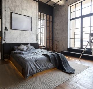 חדר שינה מראה אבן  (15)