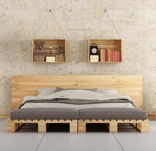 חדר שינה מראה אבן  (2)