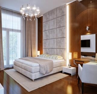 חדר שינה מראה אבן  (4)