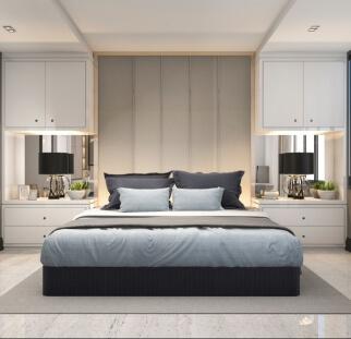 חדר שינה מראה אבן  (9)