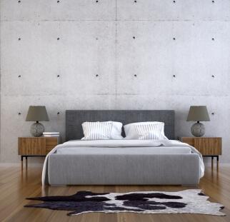 חדר שינה - מראה בטון בזכוכית   (13)