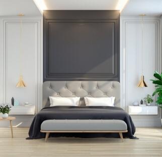 חדר שינה - מראה בטון בזכוכית   (19)