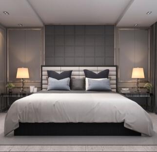 חדר שינה - מראה בטון בזכוכית   (28)