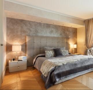 חדר שינה - מראה בטון בזכוכית   (3)