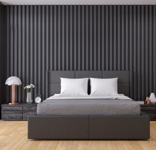 חדר שינה - מראה בטון בזכוכית   (30)