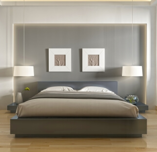 חדר שינה - מראה בטון בזכוכית   (5)