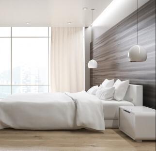חדר שינה מראה עץ בזכוכית  (13)