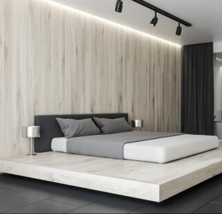 חדר שינה מראה עץ בזכוכית  (21)