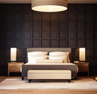 חדר שינה מראה עץ בזכוכית  (6)
