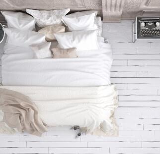 חדר שינה מראה עץ בזכוכית  (7)