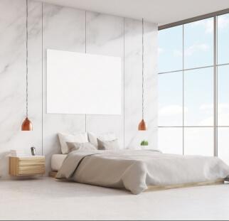 חדר שינה מראה עץ בזכוכית  (9)