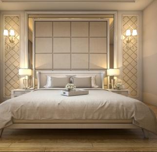 חדר שינה מראה אבן  (10)