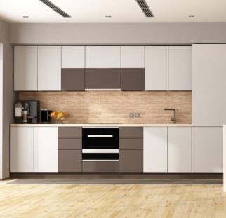 חיפוי מטבח מראה עץ - זכוכית (3)