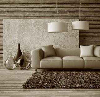 חיפוי קיר מראה עץ  - זכוכית  (3)