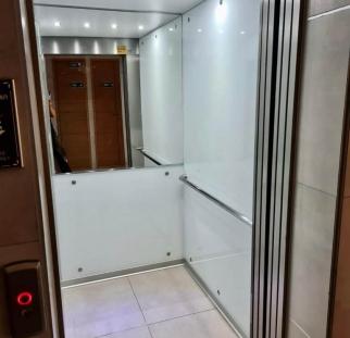 חיפוי קירות מעלית בזכוכית (4)