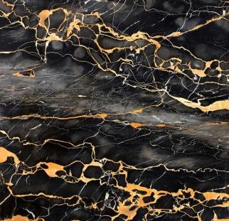 טקסטורה שיש שחור זהב