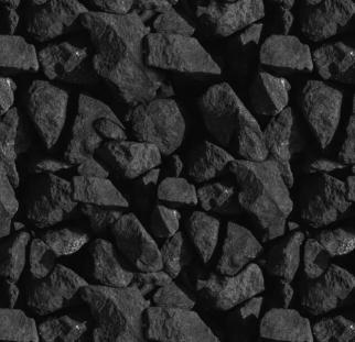 חיפוי מראה בטון שחור מגורען