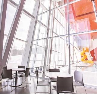 מבנה משרדים מעוצב
