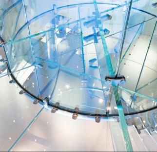 מדרגות זכוכית  (7)