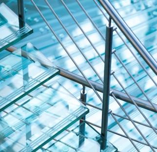 מדרגות זכוכית  (5)