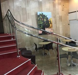 מעקות זכוכית תיאטרון ירושלים  (2)