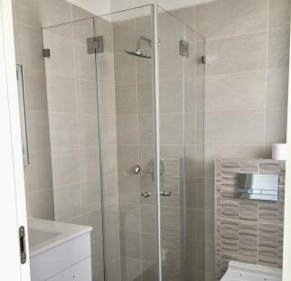 מקלחון 2 קבועים ו2 דלתות  (1)