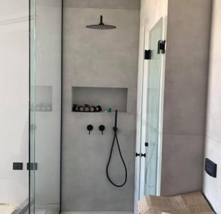 מקלחון זכוכית חזית  (7)