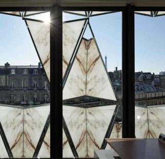 עיצוב אומנותי חזית מבנה