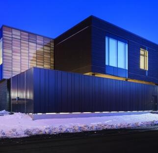עיצוב זכוכית מבנה