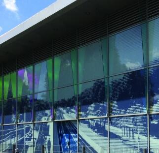 עיצוב אומנותי זכוכית הדפסה לקירות