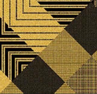 פאטרן זהב שחור