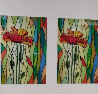 פרחים במשרד
