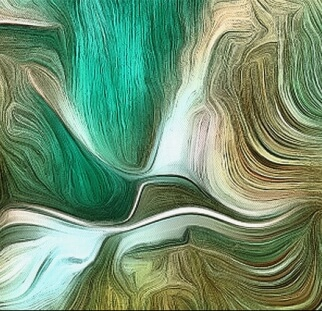 אבסטרקט ירוק