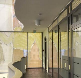 חיפויי קירות המבנה