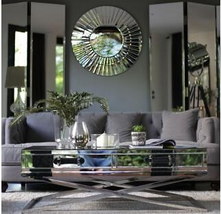 חיפוי זכוכית בסלון  (1)